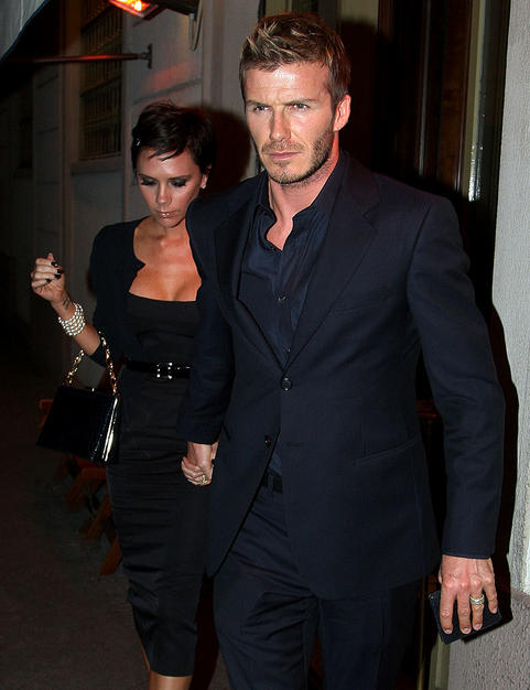David and Victoria recently had dinner at Da Giacomo ristoranti in Italy.