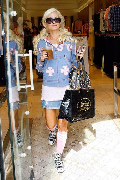 Holly Madison gets some shopping therapy after getting booted from DWTS two weeks ago.