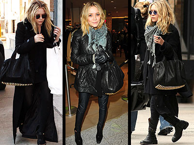 If you can't trust a celebrity fashion designer, then who can you trust? Mary Kate Olsen knows what's hot, like her studded lambskin bag from Alexander Wang's Fall 09 collection.