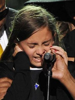 There was no better way to end the memorial than with the loving words of Paris Katherine Jackson about her daddy.