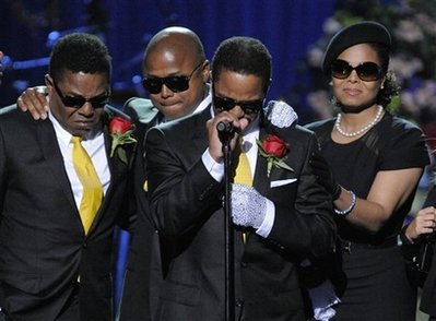 Marlon says goodbye to his brother. In many interviews, Michael has spoken on how Marlon was always the last of the brothers to catch on to the many dance routines of the Jackson 5.