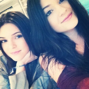 """""""Happy 2013!"""" Kendall and Kylie recently posted on their blog."""