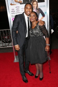 Trey Songz chose the family route as well, with his grandmother as his escort.