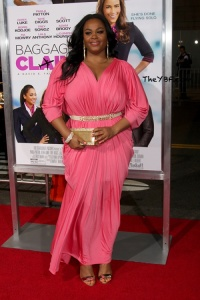 Either Jill Scott looks heaven-sent or like a Greek goddess. Either way she looks bangin.' Hope you caught her on Racheal Ray Thursday morning. (FYI)