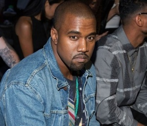 Kanye attends the Alexander Wang show during Mercedes Benz Fashion Week on Sept 7, 2013.