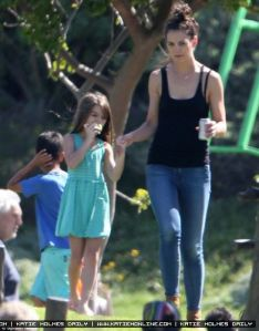 Katie and Suri at Green Point Urban Park in Cape Town, South Africa on Nov 11.