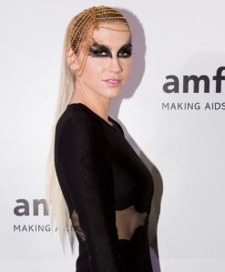 Ke$ha at the amfAR India event at the Taj Mahal Palace in Mumbai this  past weekend.