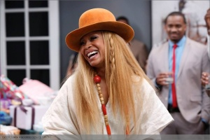 Badu recently appeared on an episode of Real Husbands of Hollywood.