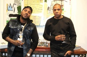 JAY Z and Jeezy have a Welcome To Roc Nation  Toast.