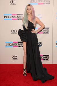 BEST DRESSED!Ke$ha must have a new stylist, because she's went from absolute worst dressed on the red carpet to best dressed within the last year. She's the perfect picture of punk chic here.