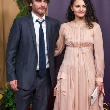 WORST DRESSED OF THE EVENING! Joaquin and Rain Phoenix (YIKES!)
